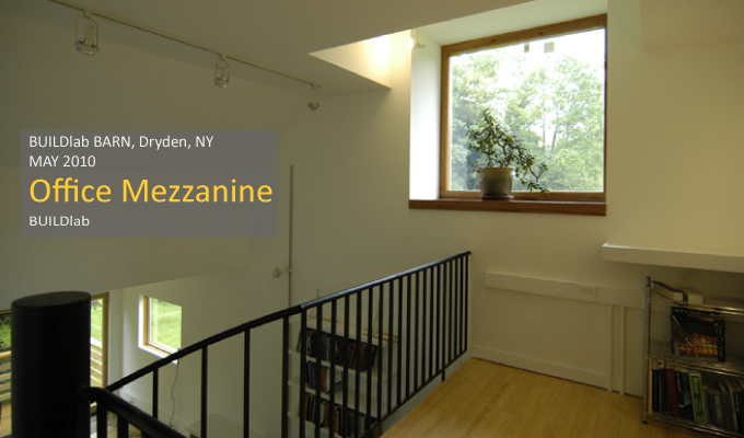 View of Office mezzanine window